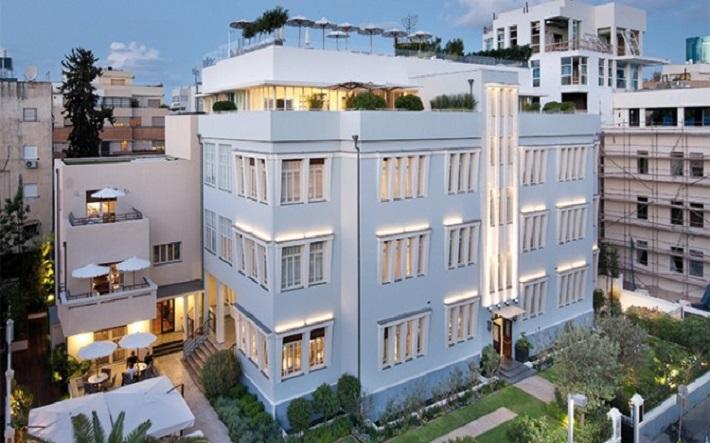 Norman hotel tel aviv giulio gianturco design for Design hotel tel aviv